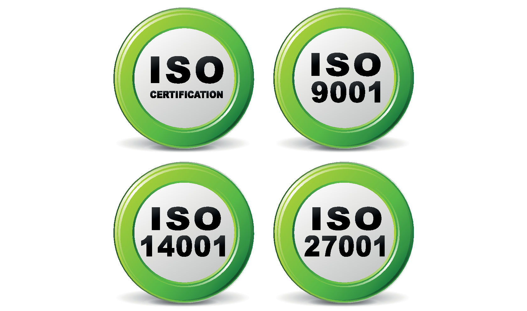 Our ISO credentials